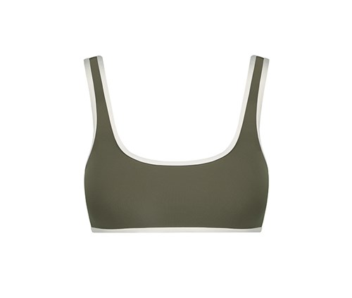 "GREEN ""KATE"" TOP"